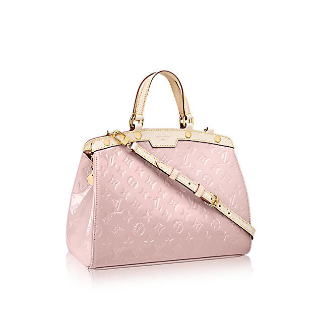 Brea MM - Monogram Vernis Leather - Handbags   LOUIS VUITTON