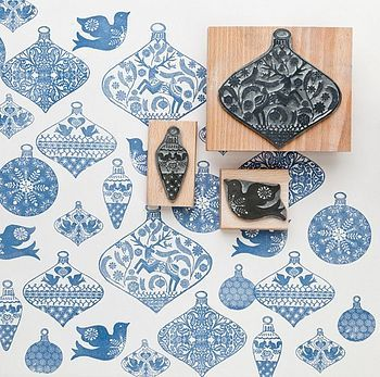 Bauble Stamps