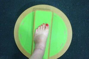 exercices pour jambe cassée  sur charlotteblablablog