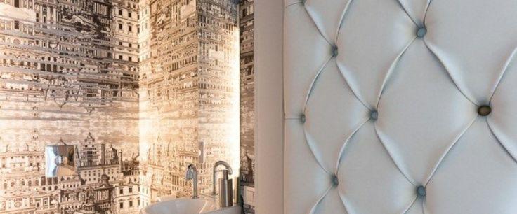 Une porte capitonnée, à la fois élégante, luxueuse et pratique