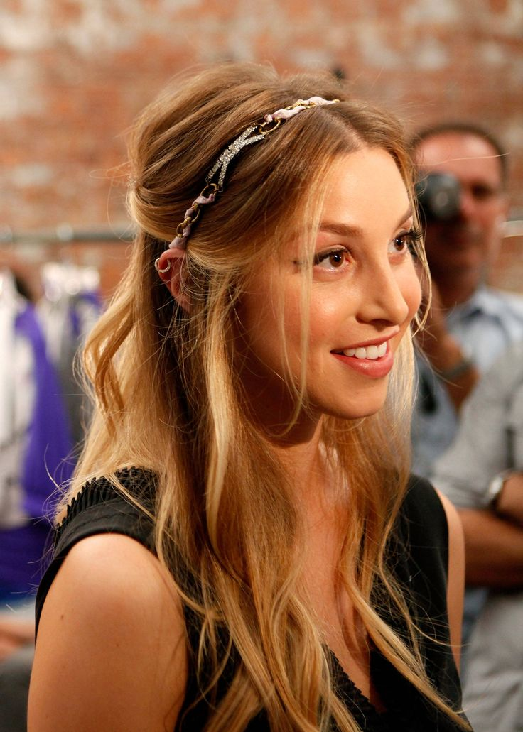 Whitney Port and her perfect hair <3