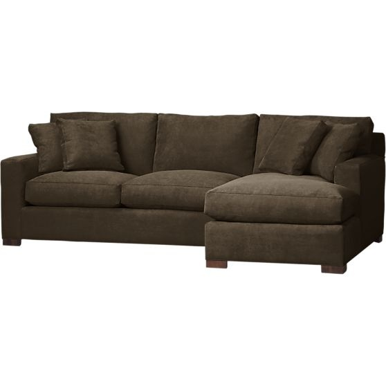 Living Room Couch High Back Seat Round Arms