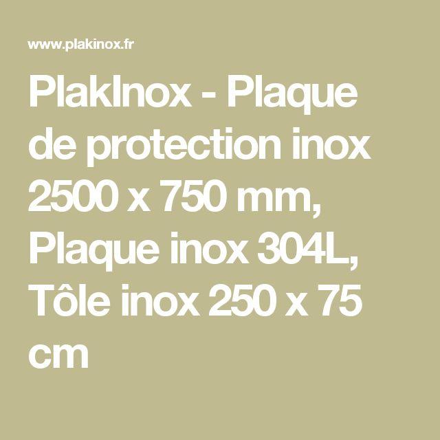 78 id es propos de plaque inox sur pinterest plaque inox cuisine credence inox et for Plaque inox autocollante