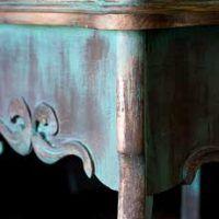 18-создавать-в-возрасте-медь-отделка-Дуб-стол-угловой-детали