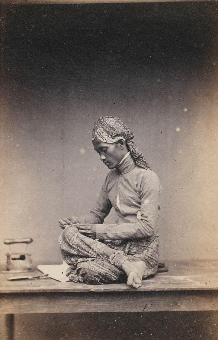 Man of Java. Javanese.