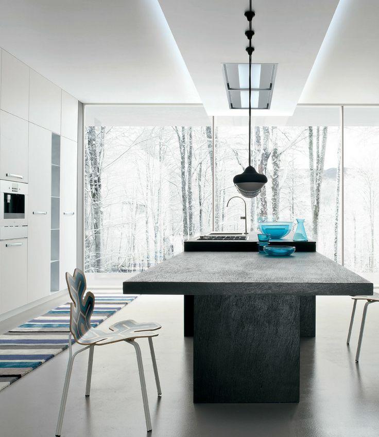 #Kitchen With Island AK_01 By Arrital | #design Franco Driusso @Arrital  Cucine