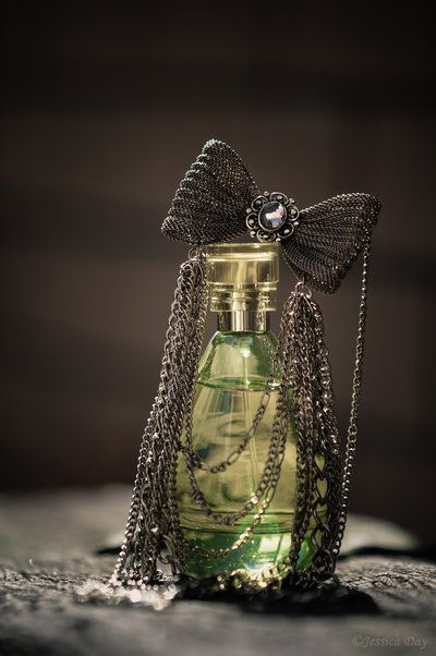 A very beautiful perfume bottle