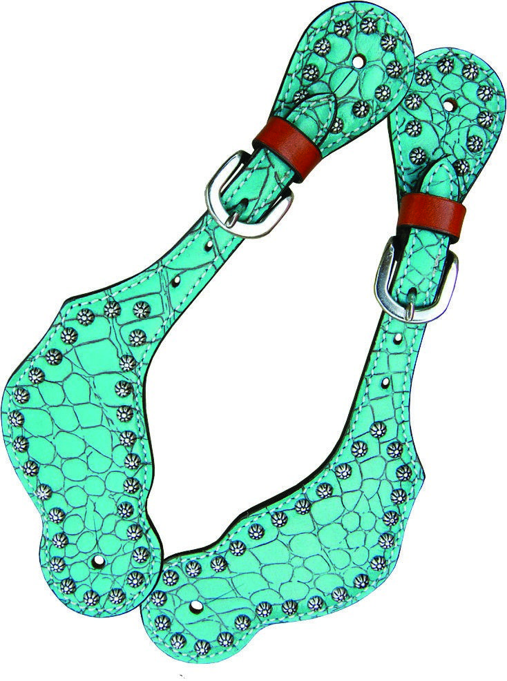 Excellent Quality ~ Affordable Prices Shop Bar H Equine  Turquoise Gator| Bar H Equine