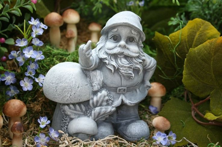 Funny Garden Gnome Giving the Finger, Rude Gnomes for Sale by PhenomeGNOME on Etsy https://www.etsy.com/listing/69019777/funny-garden-gnome-giving-the-finger