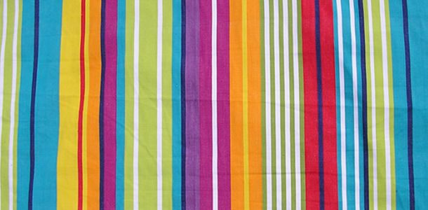 Aerobics curtain material