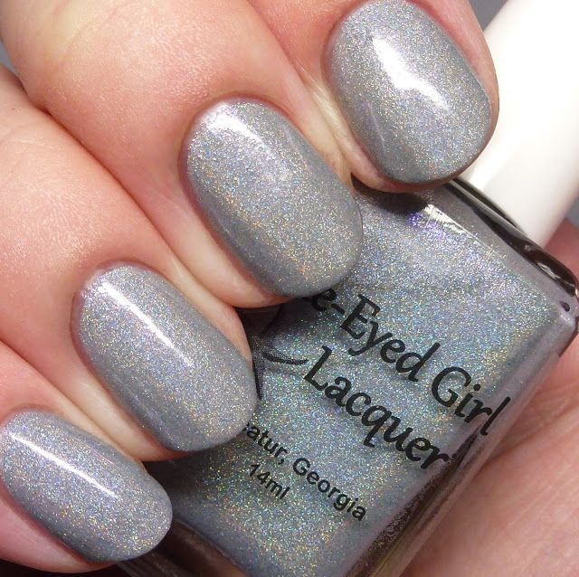 The Polished Hippy: My Nail polish obsession: Lighthouse of Hope Box: Blue-Eyed Girl Lacquer - Siren's Guiding Light