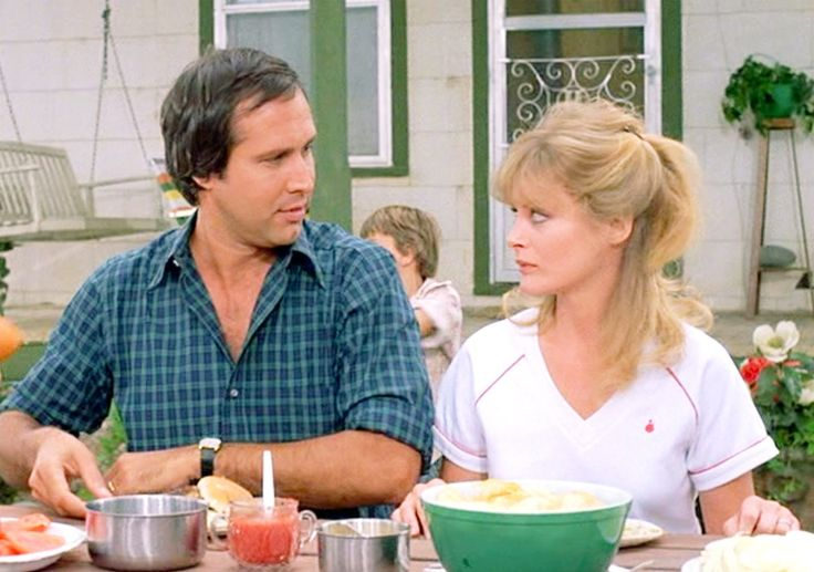 Chevy Chase and Beverly D'Angelo in National Lampoon's Vacation (1983)- IMDb