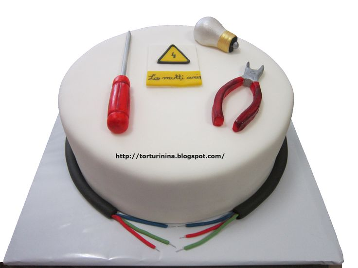 29 best Electrician cake images on Pinterest Birthday cakes