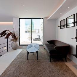 自然素材の家 オークラモデルの部屋 リラクゼーションルーム