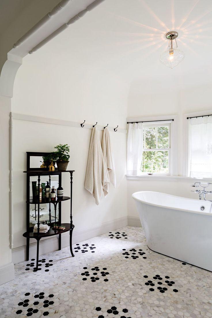 Black And White Tile Detail | Jessica Helgerson Interior Design Part 75