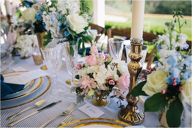 Southern Charm Wedding! Navy, blush and gold