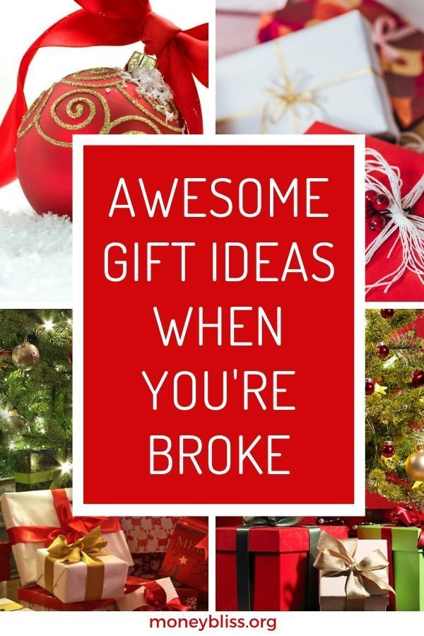 Awesome Gift Ideas When You Re Broke Money Bliss Cheap Gifts For Boyfriend Christmas On A Budget Diy Christmas Gifts
