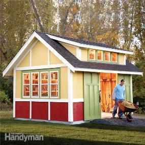 Love it!!! Step-by-step shed