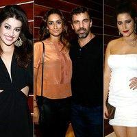 Elenco de 'Malhação - Sonhos' arrasam no look, em festa de encerramento das gravações.