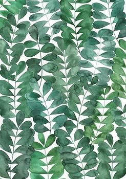 2017 Design Trend - Foliage Wallpapers