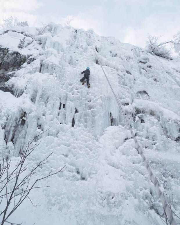 Try ice climbing in Finland
