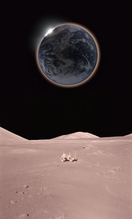 The Earth from the Moon ... NASA...Amazing