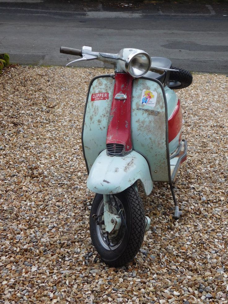 The paintwork is as imported condition (complete with Italian stickers on legshields) but mechanically it has been totally rebuilt. Yes, she looks a bit of a pig at present, but the new owner can either keep this Rat look or strip it and have it repainted and loose the originality and the patina that you only get from having stood in an Italian barn for many years.   eBay!