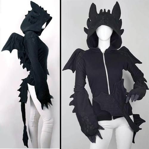 HOW TO TRAIN YOUR DRAGON Toothless Dragon Hoodie-So awesome, but I've heard it's really expensive