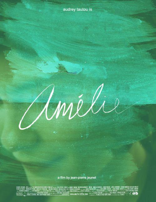 I love the movie Amélie.