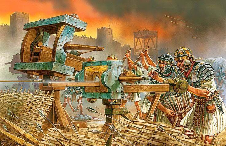 """Imperial Roman War Machines"",  Peter Dennis"