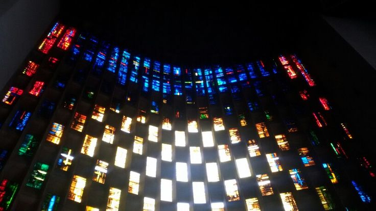 Coventry Cathedral stained glass
