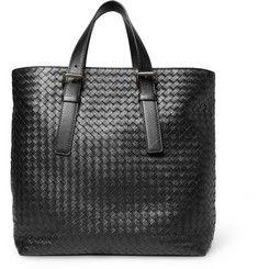 Bottega VenetaIntrecciato Leather Tote Bag