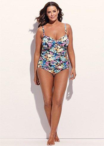 Paradise Tankini #takingshape #plussize #swim