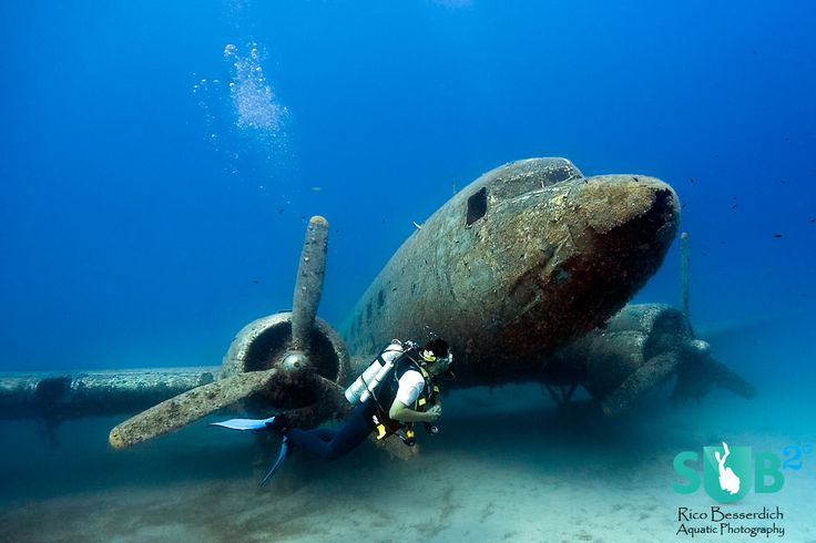 Diving the Dakota DC3 (no puedo más que acordarme de @MonicaSagrera )