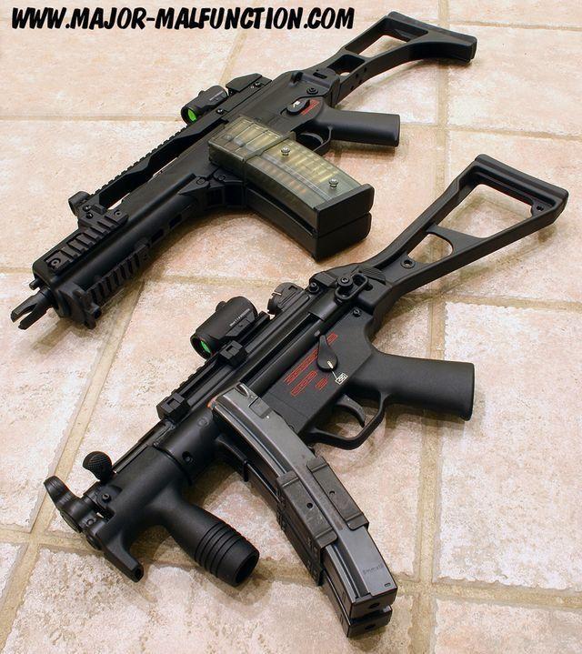 HK MP5 & G36C