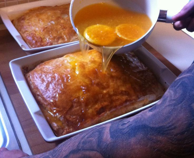 Πορτοκαλόπιτα του Άκη!