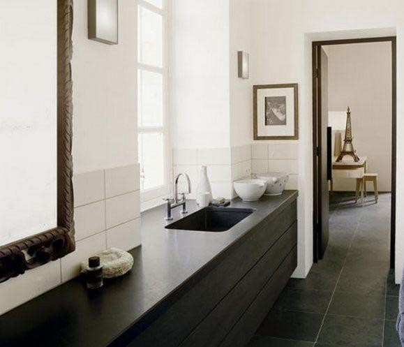 Oltre 25 fantastiche idee su bagno in ardesia su pinterest bagno color carbone doccia in - Bagno in ardesia ...