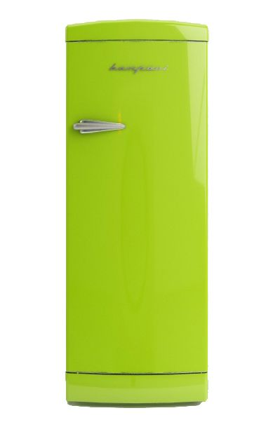 Frigo Bompani Retrò monoporta #verde #lime  #Bompani #architettura #design #arredamento #retrò #MadeInItaly #frigoriferi #Fridge #ItalianCulture #ItalianCuisine #green