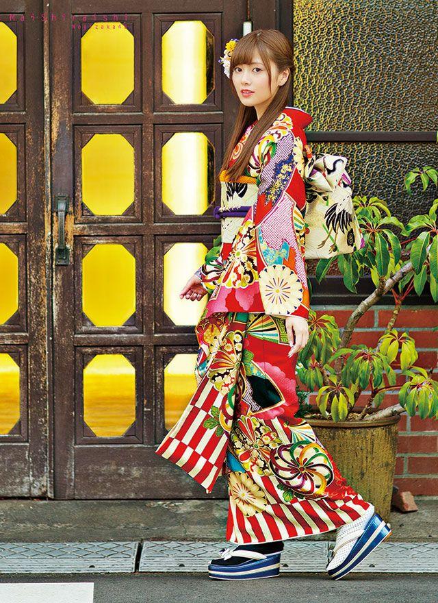白石麻衣振袖コレクション(SM-3) 成人式の振袖のご購入/レンタルは京都きもの工房グループ<KYOTO SWEET COLLECTION>