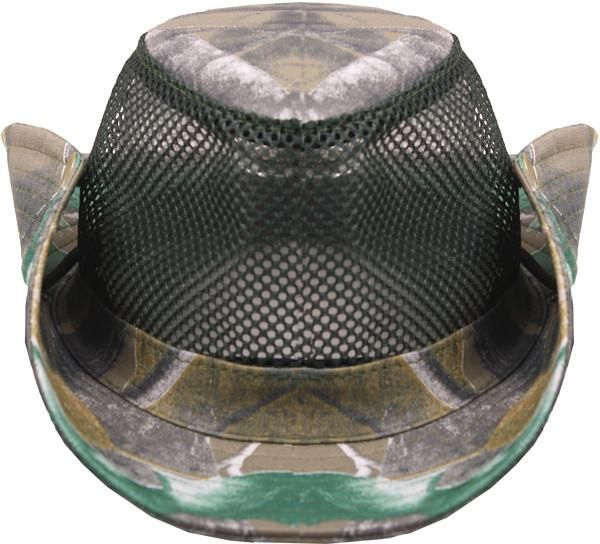 Real Tree Camouflage Cowboy Hat - 72 Units