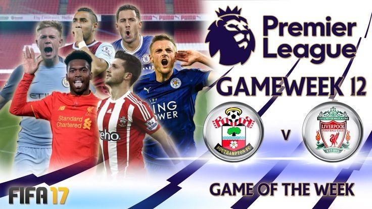 FIFA 17 Premier League - Gameweek 12 Highlights All the matches. All the goals and all the highlights from Gameweek 12 of the Premier League presented on FIFA 17.   #FIFA #GAMEWEEK #highlights #League #premier