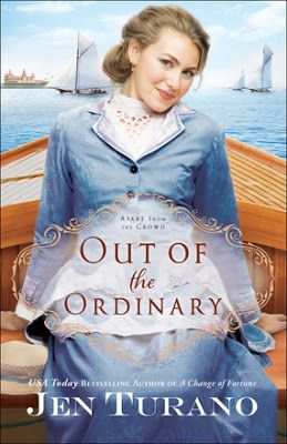 Book Review: Out of the Ordinary by Jen Turano, Book 2 of Apart From the Crowd  Need another laugh? Dive into the lives of wallflowers in Jen Turano's #OutoftheOrdinary! This 2nd novel in the #ApartFromtheCrowd series is definitely a crowd pleaser! From Bethany House Publishers.  ❤❤❤❤❤❤