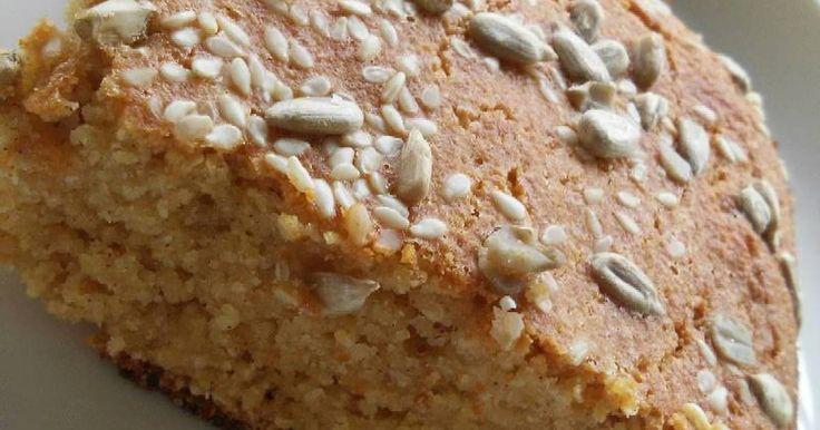Fabulosa receta para Pan de harina de garbanzos y avena integral. Delicioso pan para acompañar el desayuno o la merienda.
