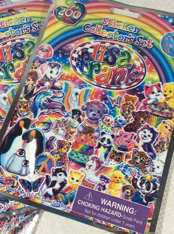 A personal favorite from my Etsy shop https://www.etsy.com/listing/256866158/lisa-frank-stickers-lisa-frank-grab-bag