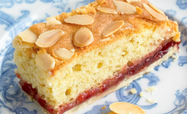 Mary Berry's Bakewell Slices recipe.