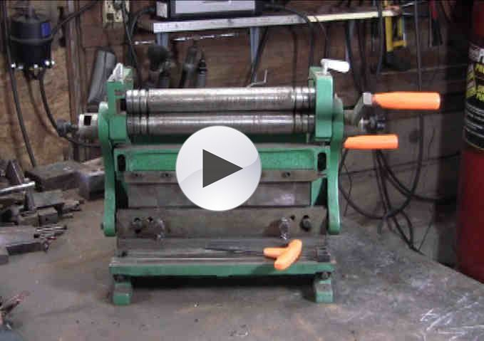 12 Quot 3 In 1 Grizzly Sheet Metal Machine Shear Roller