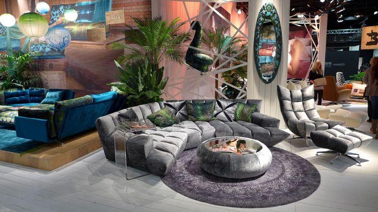 Bretz Cloud 7 Lounge Coffee Table Rocking Chair In