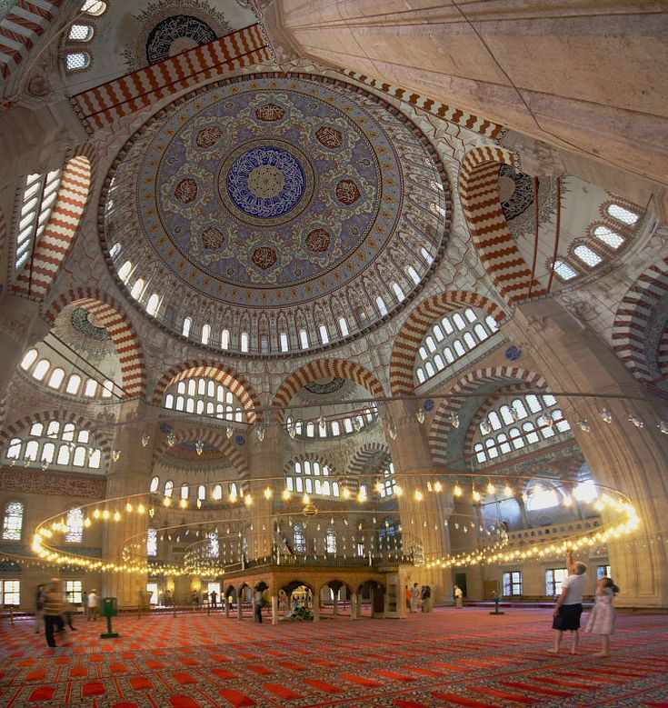 Edirne, Turkey.  http://www.worldheritagesite.org/sites/selimiye.html