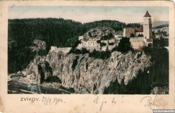 Zvíkov-hrad (27.8.1904)