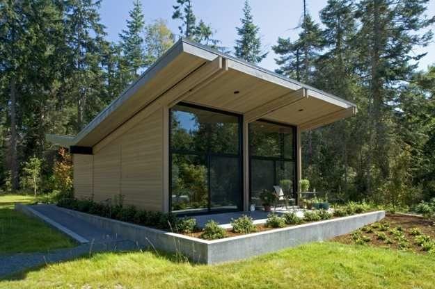 modern houses for downsizing